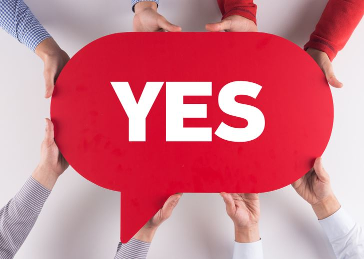 Make Your Message a YES